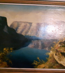 Umetnicka slika Morski zaliv