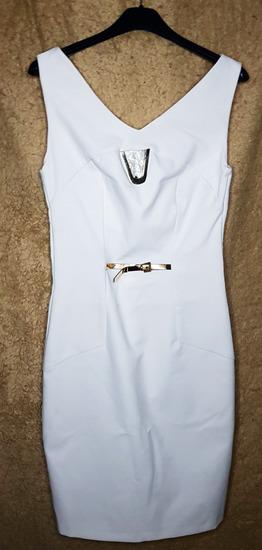 Елегантен бел фустан
