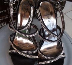 Stikli sandali visoki