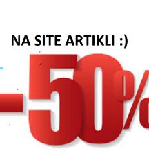 50% na site artikli :)