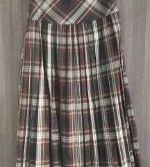 Кариран зимски фустан‼50%