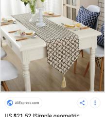 LUXURY ENTERIOR NOVI TABLE RUNNER OD AMERICA