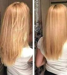 Кератински спреј за обнова на косата