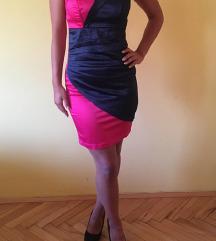Елегантен,сатенски фустан