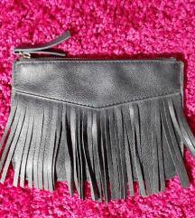 Мала плик чанта со реси