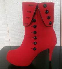 Црвени чизмички, 40-ка