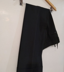 Crni kvalitetni pantaloni vel S/M  - 200 den