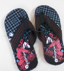 NOVO Crni papuci