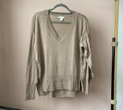 H&M џемпер co V израз