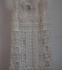 Формално бело, нежно фустанче
