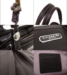 COACH East West Gallery Tote bag, kako nova!
