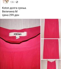 Dolga suknja Koton