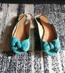 Sandali tirkizna boja novi