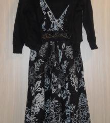 Komplet fustance i dzemperce vel S/M- 200 den