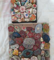 Декорации со камчиња - handmade
