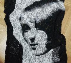 Umetnicka cipkana bluza