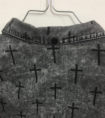 |Gothic Crosses Shirt|