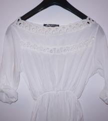 ❥ НОВО преубаво фустанче бело