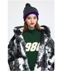 ZARA  faux fur M