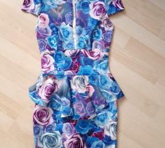 Впечатлив мини фустан