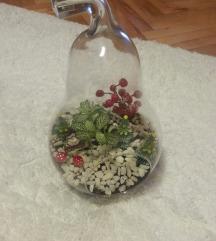 Golema Staklena Krusa so zivo cveke
