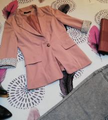 Сако розево