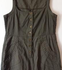*700*Leten maslinest lenen fustan MS Mode br.44/XL