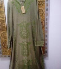 Etiketa- 100%pamuk-dolg fustan