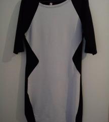 Црнобел фустан