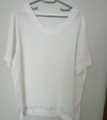 *400*Preubava bela bluza s.Oliver 42/44 Viskoza