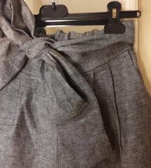 Нови штосни широки панталони со висок струк