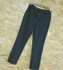 Sivi 7/8 cigaret pantaloni S