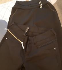 2 пара црни панталони/хеланка