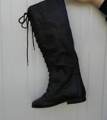 PEXIM кожни чизми со врвки