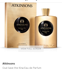 Original parfem ATKINSONS Oud Save The Queen 100ml