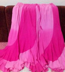 пинк сукња