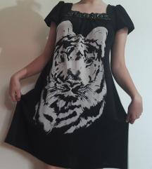 Широк фустан со тигар