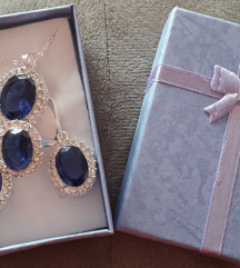Nov srebren nakit vo set