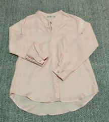 Нежно розева кошула
