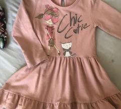 Женско памучно фустанче