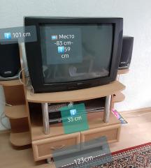 TV комода со телевизор
