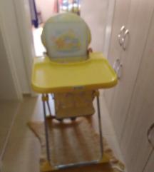 Продавам хранилка и количка за бебе