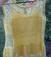 Жолта блуза