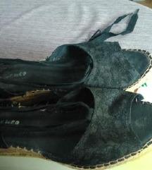 FLAMENCO crni sandali
