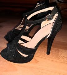 Sandali crni elegantni