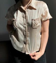Свилена кошула, М