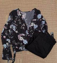 Блуза со принт