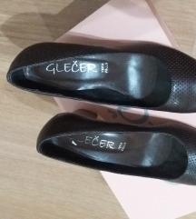 Нови Glecher  кафеави штикли