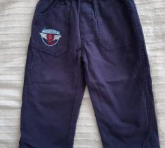 Detski postaveni pantaloni