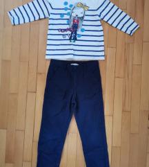 H&M pantoloni i bluza
